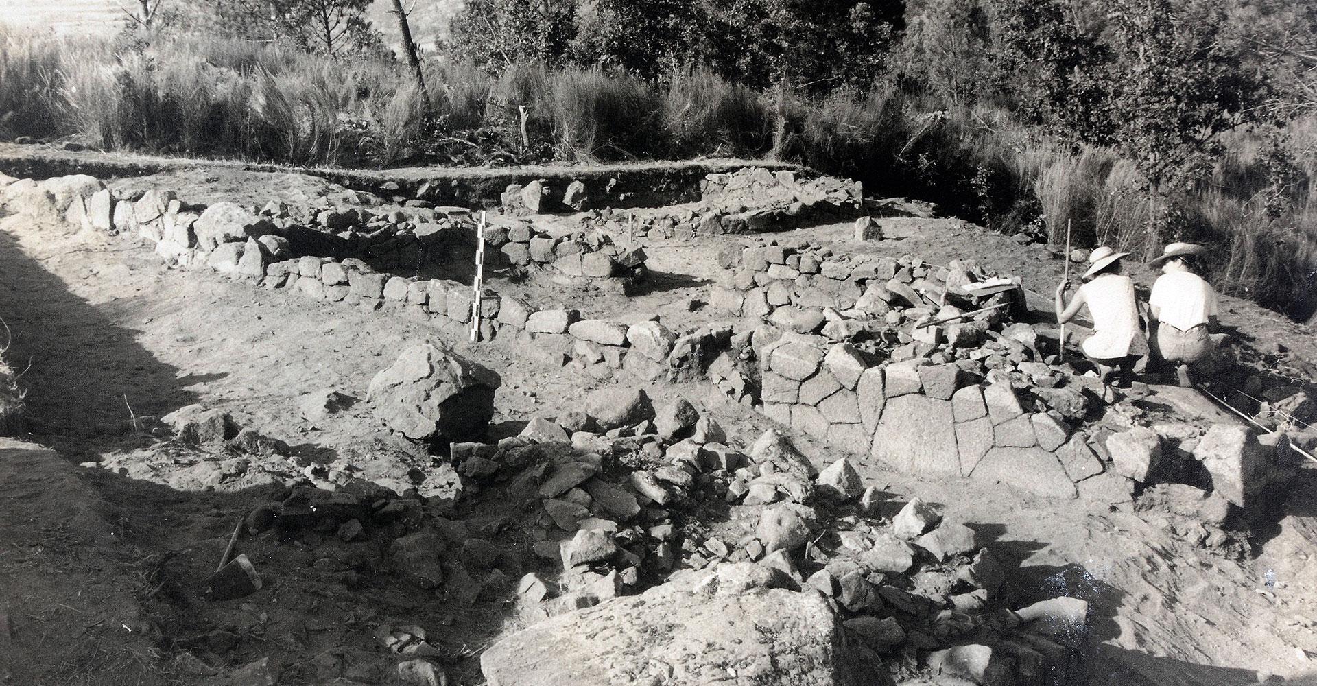 Archäologisches Feld der Serra da Aboboreira